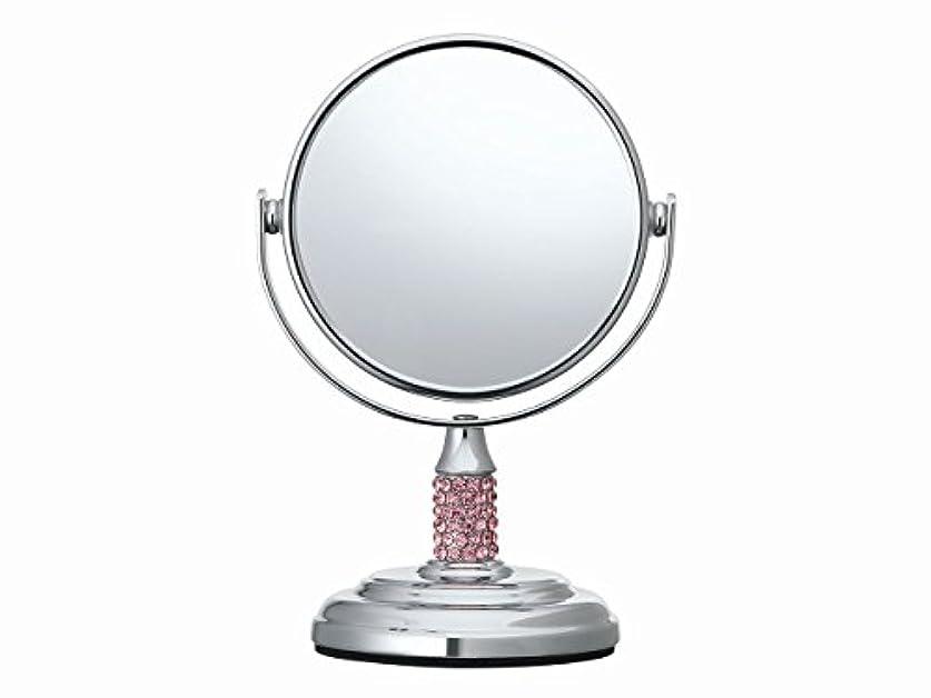 シンプルさ付録サークルコイズミ 拡大鏡 サイズφ75mm ピンク KBE-3051/P