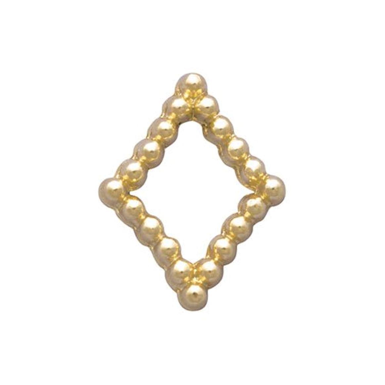 中何よりも精緻化プリティーネイル ネイルアートパーツ ブリオンキラキラS ゴールド PN-733G 15個