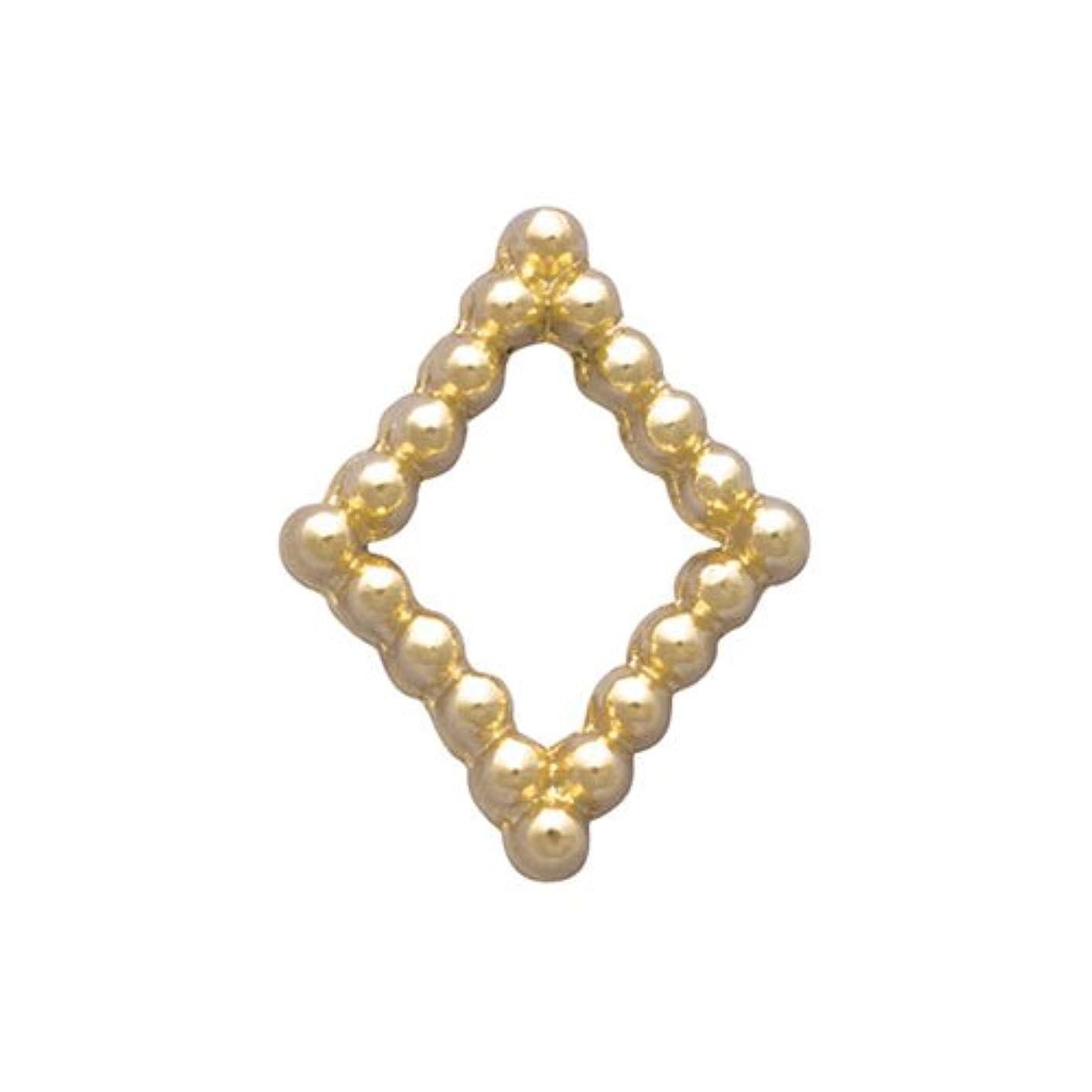 線形安価な要件プリティーネイル ネイルアートパーツ ブリオンキラキラS ゴールド PN-733G 15個