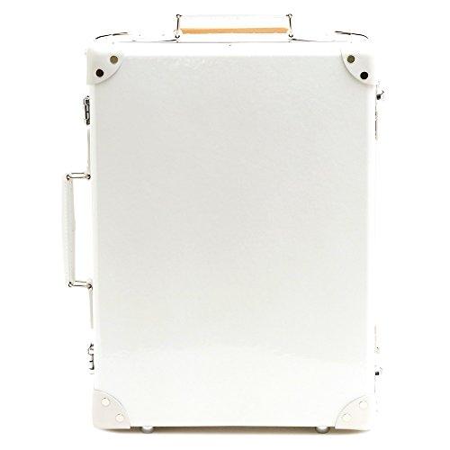 (グローブトロッター)GLOBE TROTTER スーツケース ROYALE ロワイヤル 18インチ 28L 2輪 (パールホワイト) GTROYWW18TC/PEARL WHITE [並行輸入品]