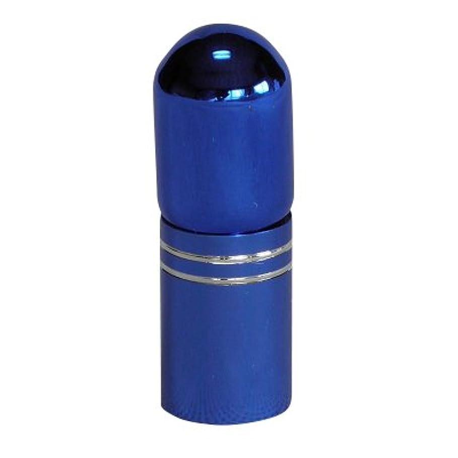 マイナーどこか区別アトマイザー 携帯 持ち運び ミニ サイズ 3ml ロール オン タイプ 香水 詰め替え (ブルー)