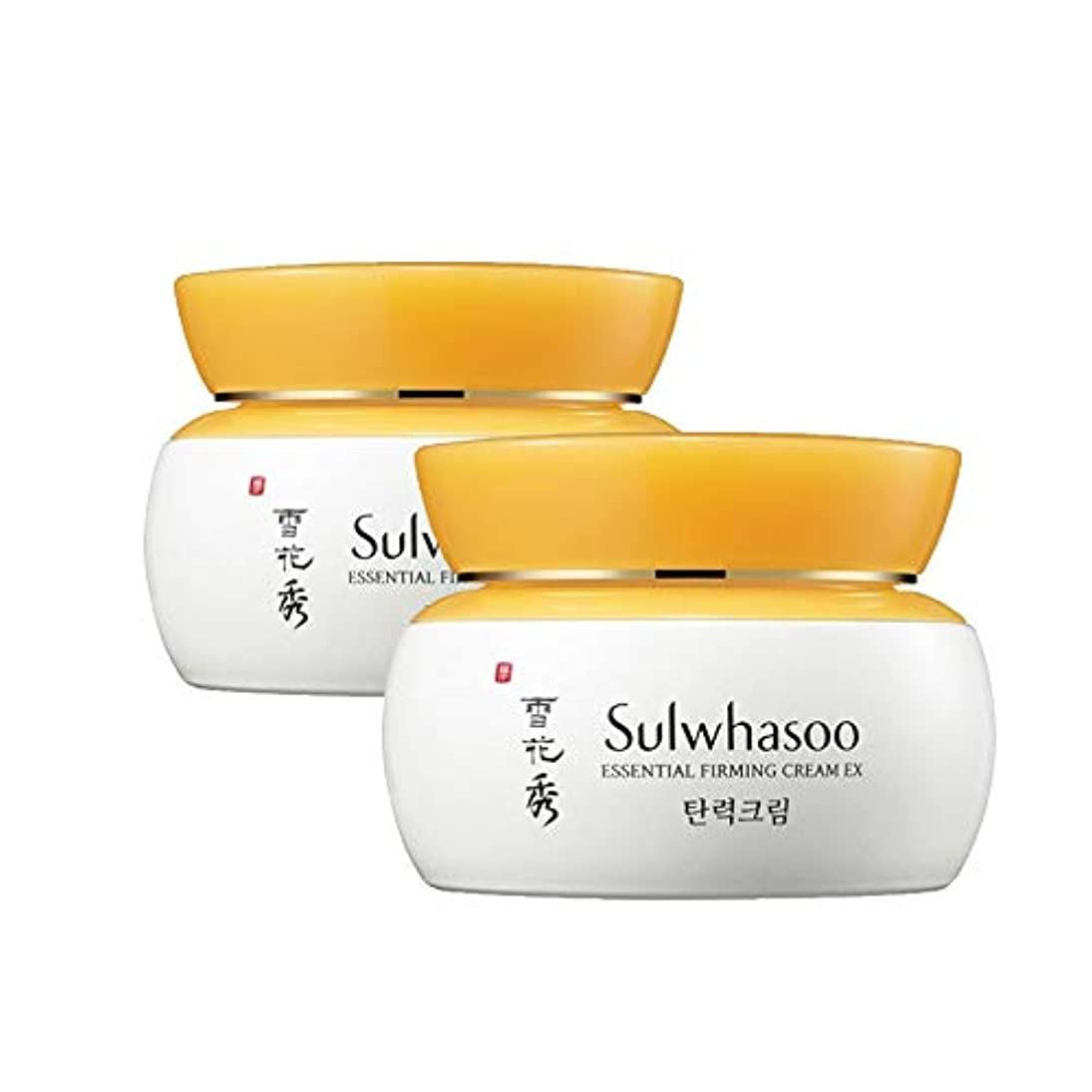 顎歩き回る男性雪花秀エッセンシャルパーミングクリーム 75mlx2本セット 弾力クリーム韓国コスメ、Sulwhasoo Essential Firming Cream 75ml x 2ea Set Korean Cosmetics [...