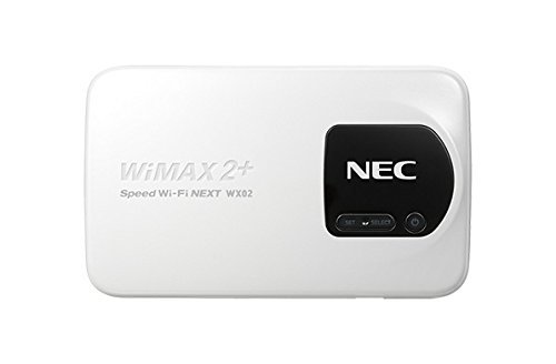 WiMAX2+Speed Wi-Fi NEXT WX02 NAD32SWU パールホワイト