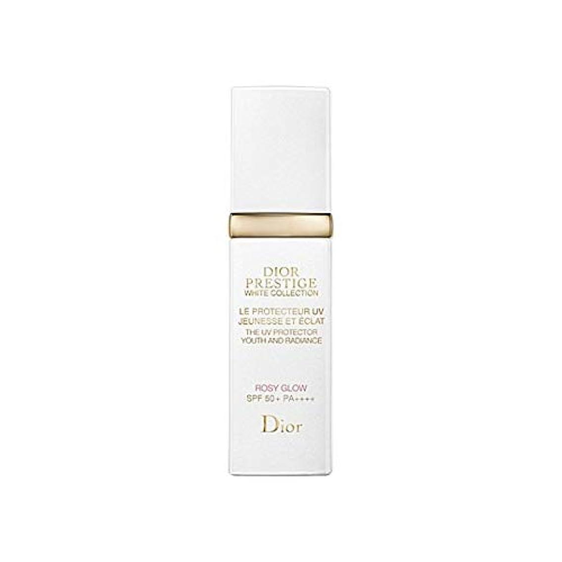 コロニー眉をひそめるエンジン[Dior] ディオールプレステージUvバラ色のグロー30ミリリットル - Dior Prestige Uv Rosy Glow 30ml [並行輸入品]