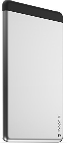 mophie Powerstation 5X Dual USB External Battery for Smartphones and Tablets (10,000 mAh) - Aluminum [並行輸入品]