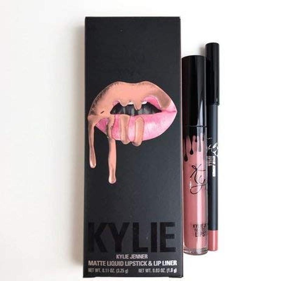 唇カール発明Kylie Jenner COSMETICS DIRTY PEACH リキッドリップスティック コスメ [並行輸入品]