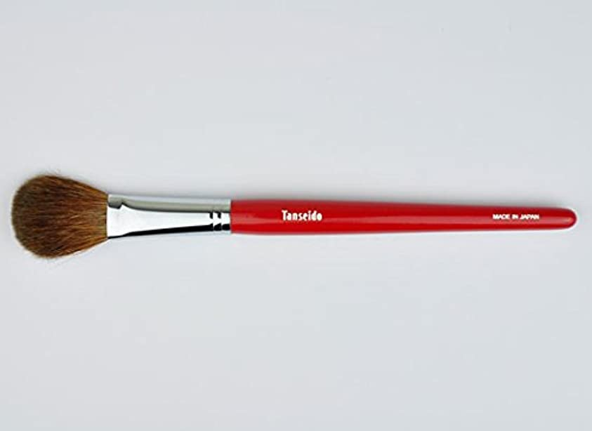 たくさん不器用ごめんなさい熊野筆 丹精堂 チークブラシ YAQ 17 赤