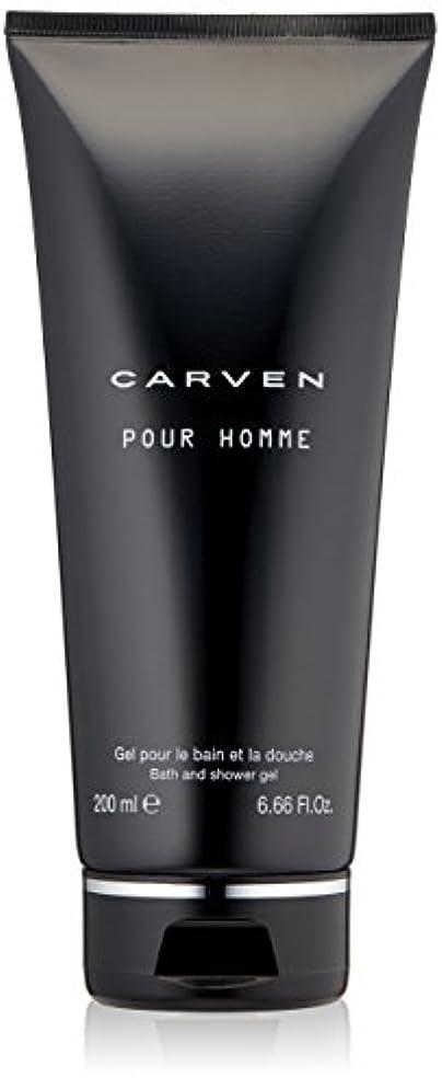 傾いた言語強制Carven Pour Homme