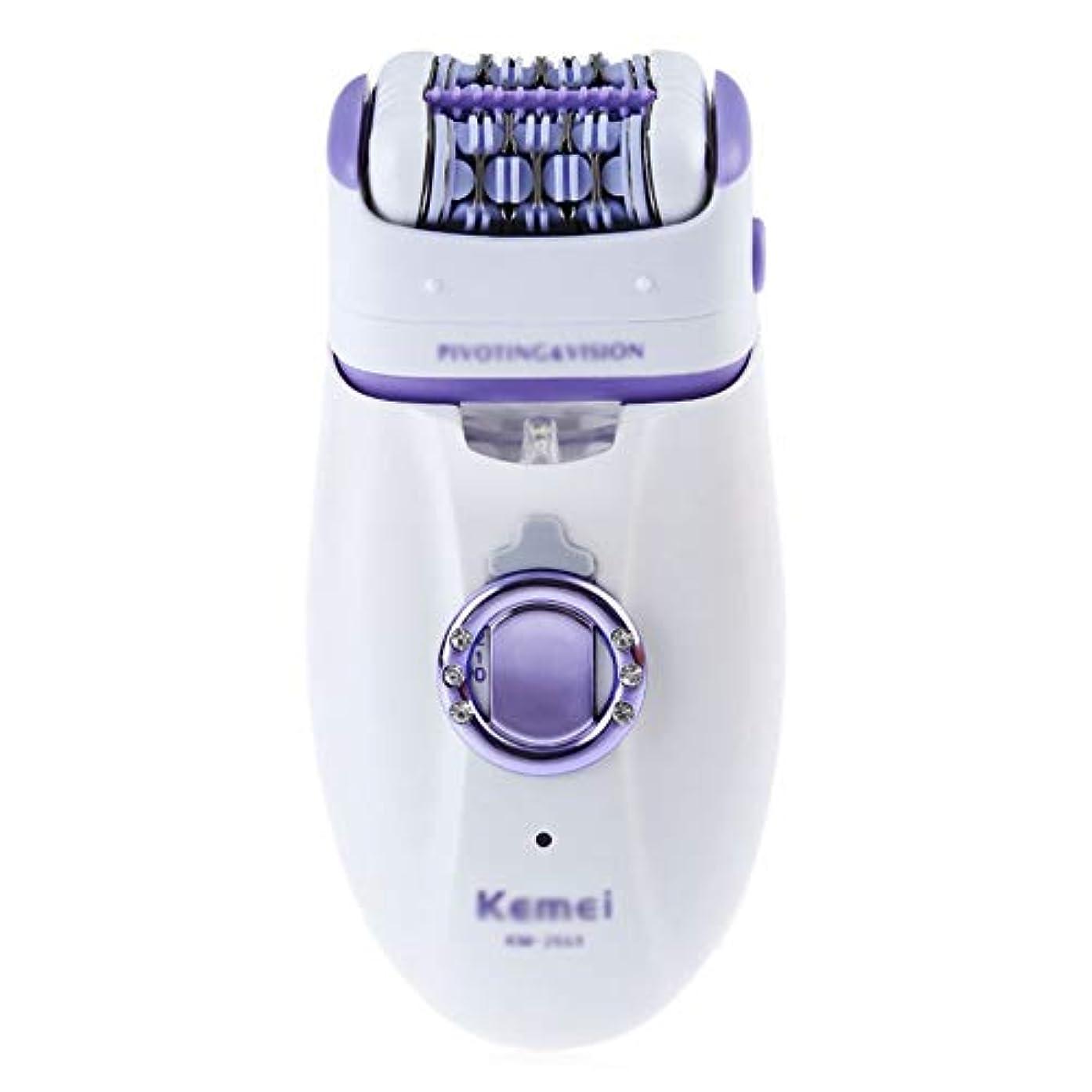 モーション疲労スピリチュアルコードレス電気脱毛脱毛器、充電式、防水、ポータブル脱毛カミソリ付きライト