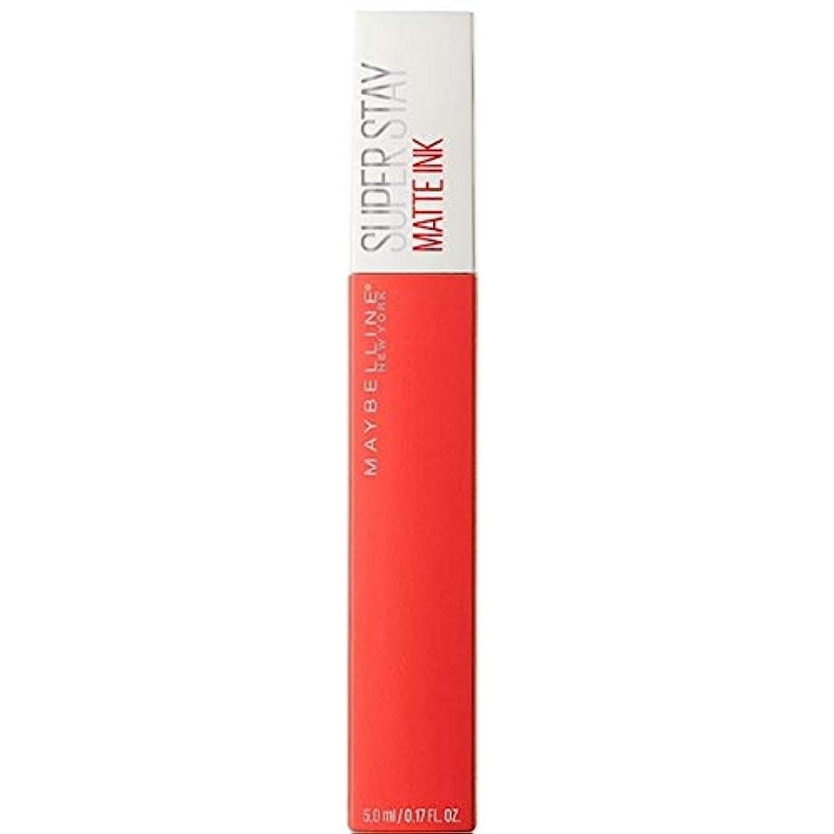 霊興味小説[Maybelline ] メイベリンSuperstayマットインク液25主人公 - Maybelline Superstay Matte Ink Liquid 25 Heroine [並行輸入品]