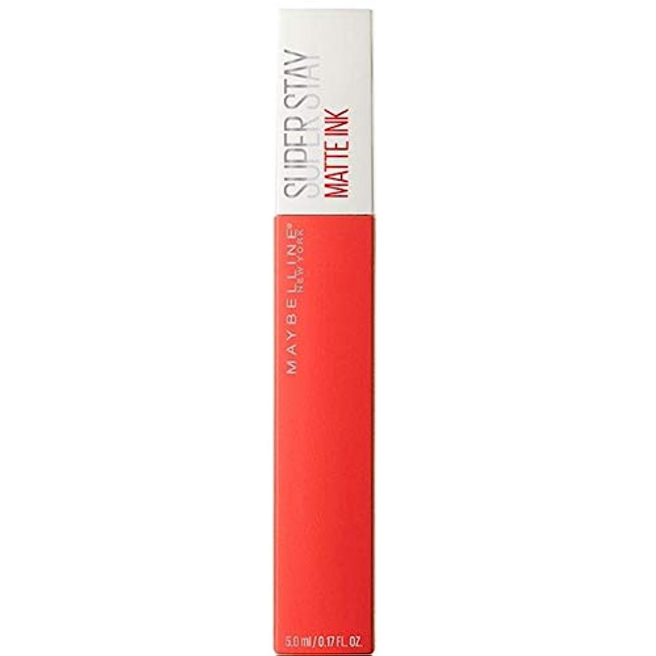 欺島対[Maybelline ] メイベリンSuperstayマットインク液25主人公 - Maybelline Superstay Matte Ink Liquid 25 Heroine [並行輸入品]
