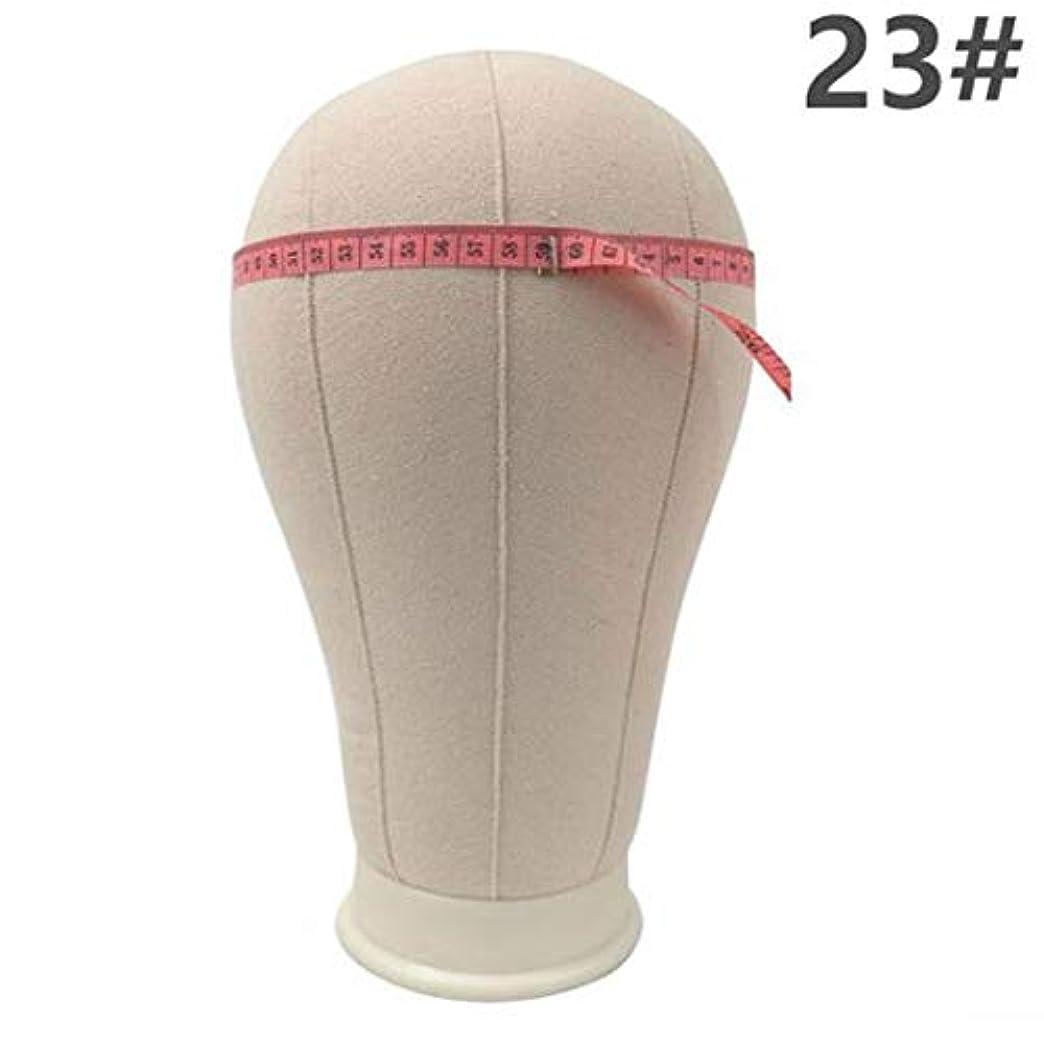 パスライム復活するヘッドモールドウィッグブラケット仕上げウィッグ形状ピン止め可能な布布モデルヘッドキャンバスヘッドモデルヘッドウィッグ配置,C