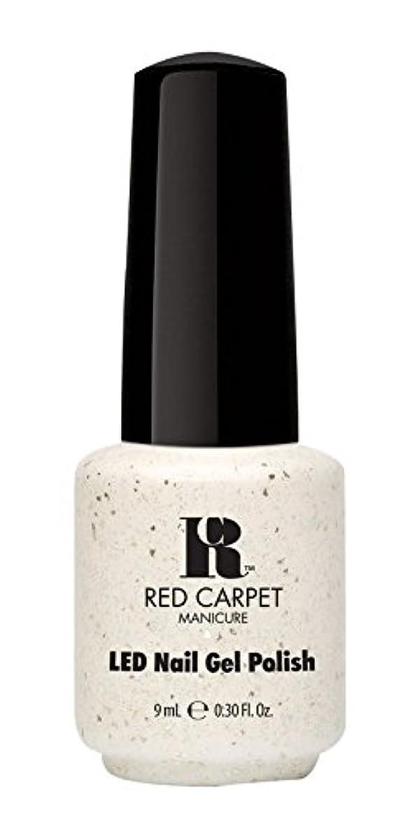 スラッシュ目的驚かすRed Carpet Manicure - LED Nail Gel Polish - Put a Slipper on It - 0.3oz / 9ml