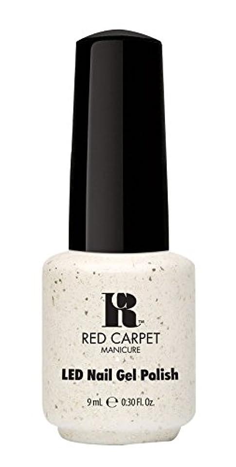 子犬潤滑する汚染するRed Carpet Manicure - LED Nail Gel Polish - Put a Slipper on It - 0.3oz / 9ml