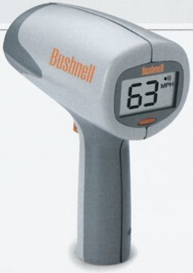 Bushnell スピードガン Velocity RADARGUN スピード測定器 モータースポーツ 野球 テニス にお勧め キロ表示
