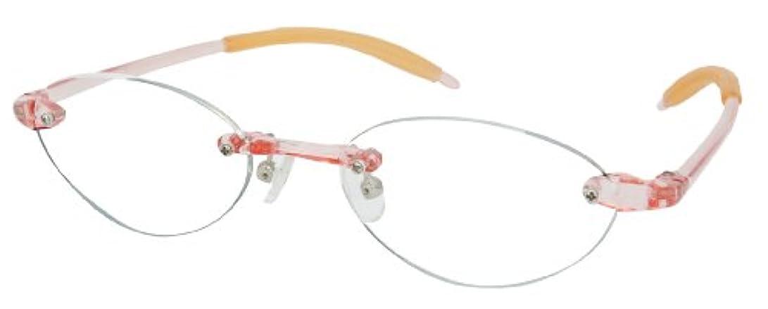 会計士気づくなる見るシニアフレックス(SENIOR FLEX) 調弾性リーディンググラス レディース +2.50 SF03 【老眼鏡】