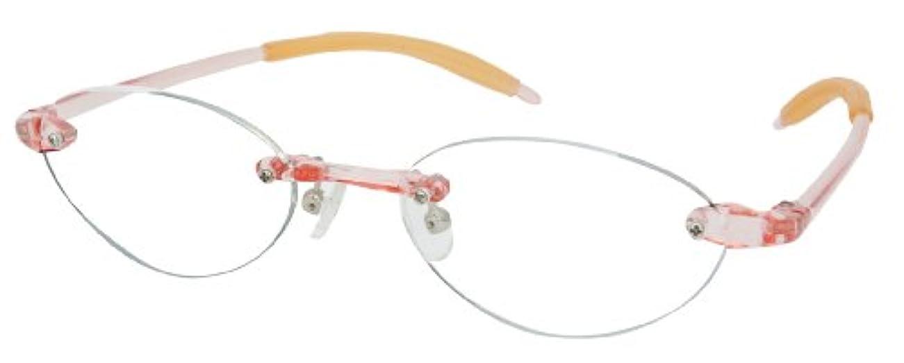 シニアフレックス(SENIOR FLEX) 調弾性リーディンググラス レディース +3.00 SF03 【老眼鏡】