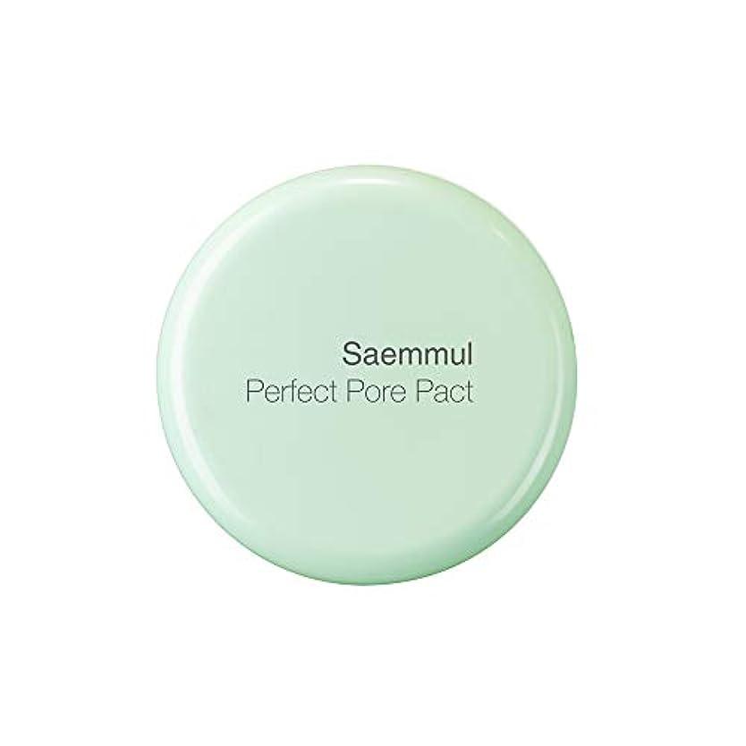 血色の良い立ち寄る煩わしいTHE SAEM(ザ セム) 日本公式 (the SAEM) センムル パーフェクトポア パクト (0164) 12g