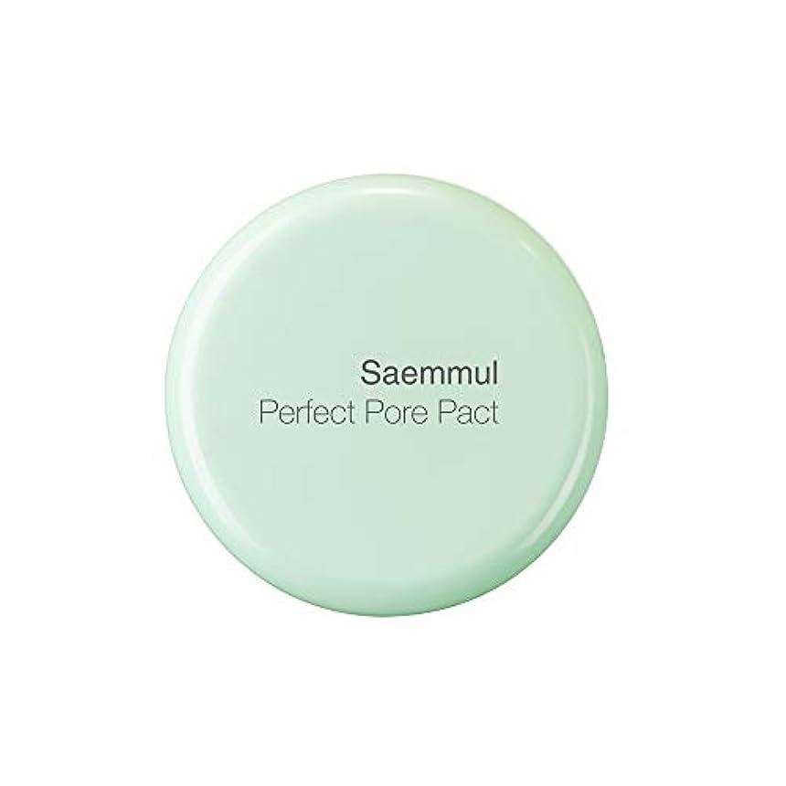 毎日岩扇動THE SAEM(ザ セム) 日本公式 (the SAEM) センムル パーフェクトポア パクト (0164) 12g