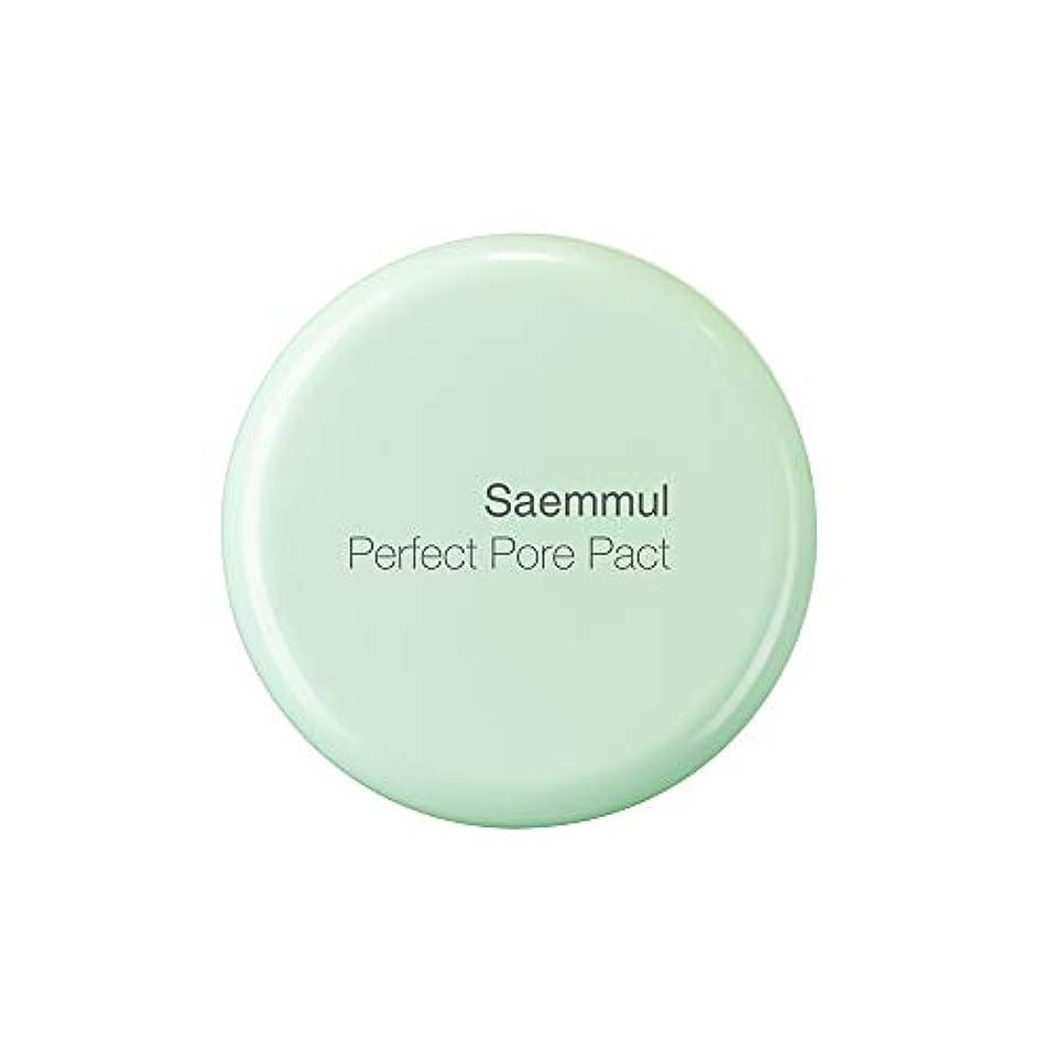 テープ本会議迷信THE SAEM(ザ セム) 日本公式 (the SAEM) センムル パーフェクトポア パクト (0164) 12g