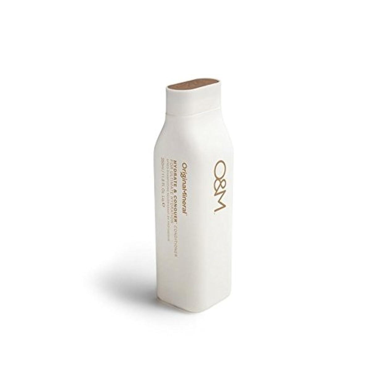 爵外交官生息地Original & Mineral Hydrate And Conquer Conditioner (350ml) (Pack of 6) - オリジナル&ミネラル水和物及びコンディショナー(350ミリリットル)を征服...