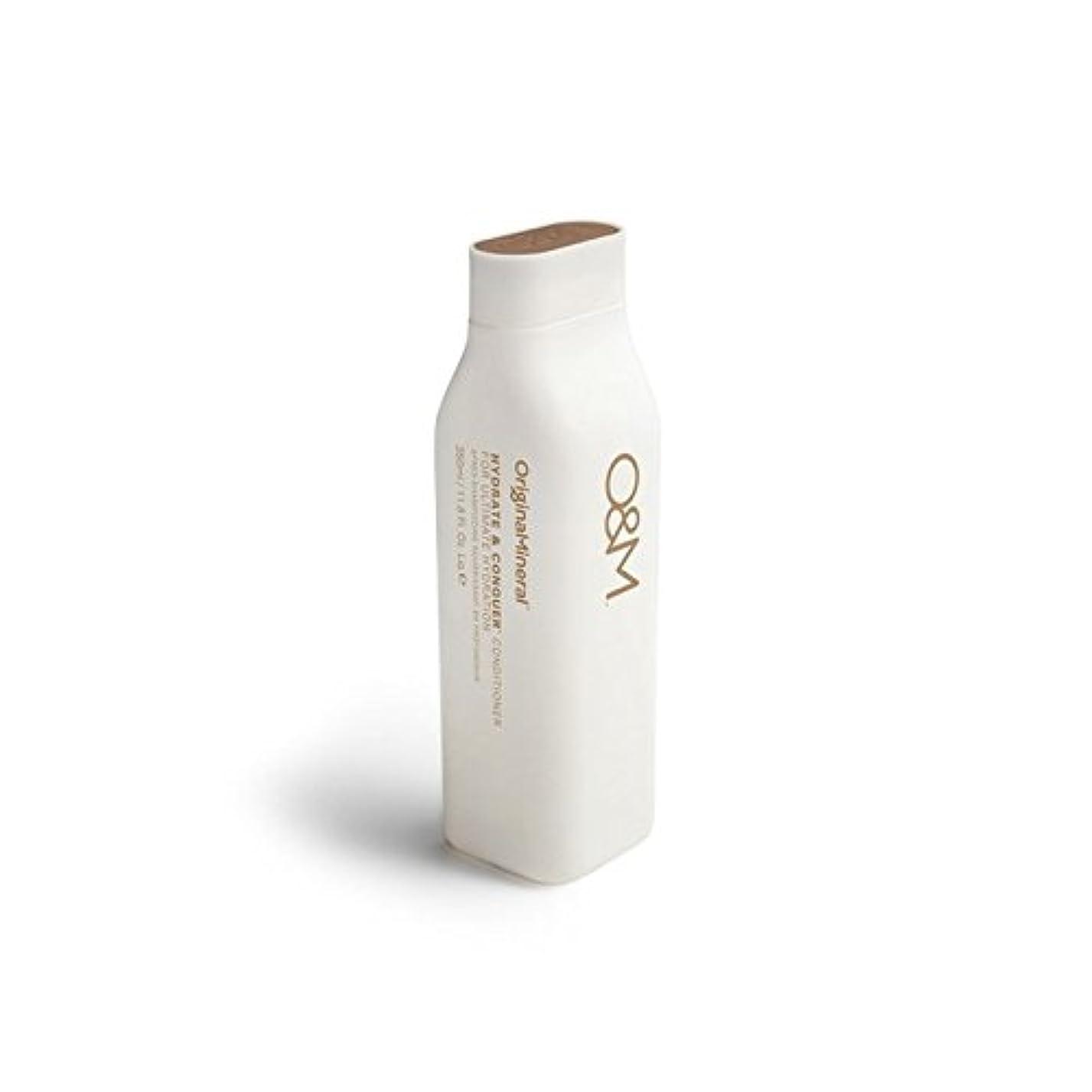 操縦するリビジョン信者Original & Mineral Hydrate And Conquer Conditioner (350ml) (Pack of 6) - オリジナル&ミネラル水和物及びコンディショナー(350ミリリットル)を征服...