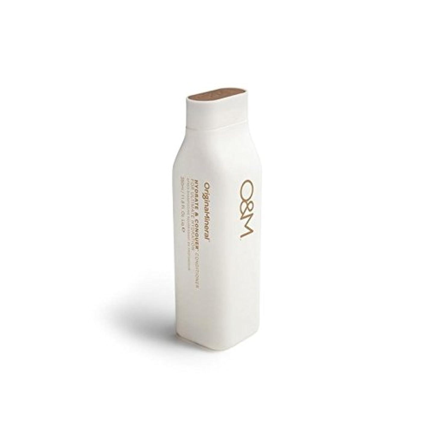 薄いです電圧地下室オリジナル&ミネラル水和物及びコンディショナー(350ミリリットル)を征服 x4 - Original & Mineral Hydrate And Conquer Conditioner (350ml) (Pack of...