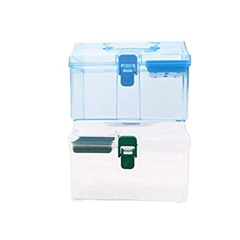 不可能な程度突然のYxsd 応急処置キット 家族用救急箱、薬箱、収納箱、家族用緊急キット収納オーガナイザー