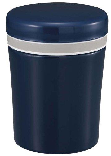 パール金属 フード ポット 310ml ネイビー 保温 弁当箱 アルト UE-3220
