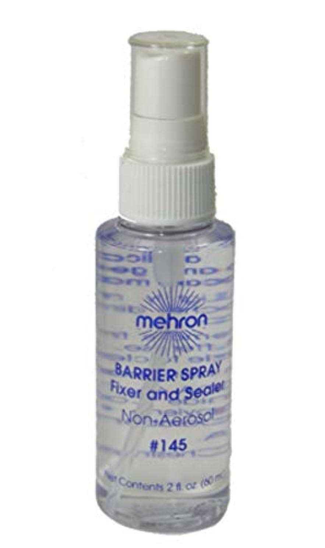 警報急いでくしゃみmehron Barrier Spray Fixer and Sealer Clear (並行輸入品)