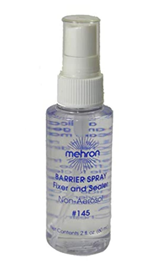 有彩色の波放置mehron Barrier Spray Fixer and Sealer Clear (並行輸入品)
