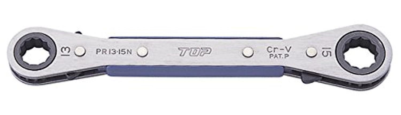 TOP トップ工業 PR-10×13N 板ラチェットレンチ