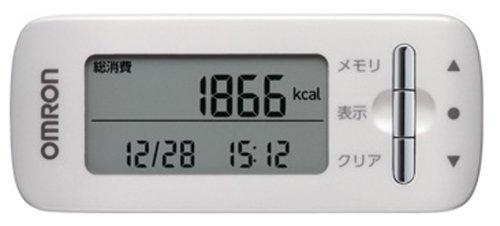 オムロン(OMRON) 活動量計 カロリスキャン ホワイト HJA-306-W