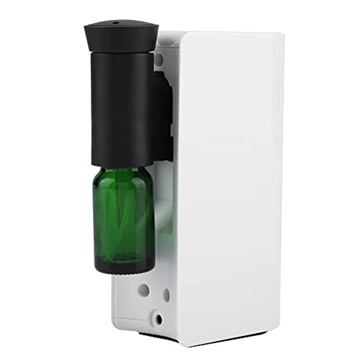 余計な調停者原始的なエッセンシャルオイルディフューザー、100ml USB充電式クールミスト加湿器アロマオイル加湿器気化器アロマディフューザー(白)