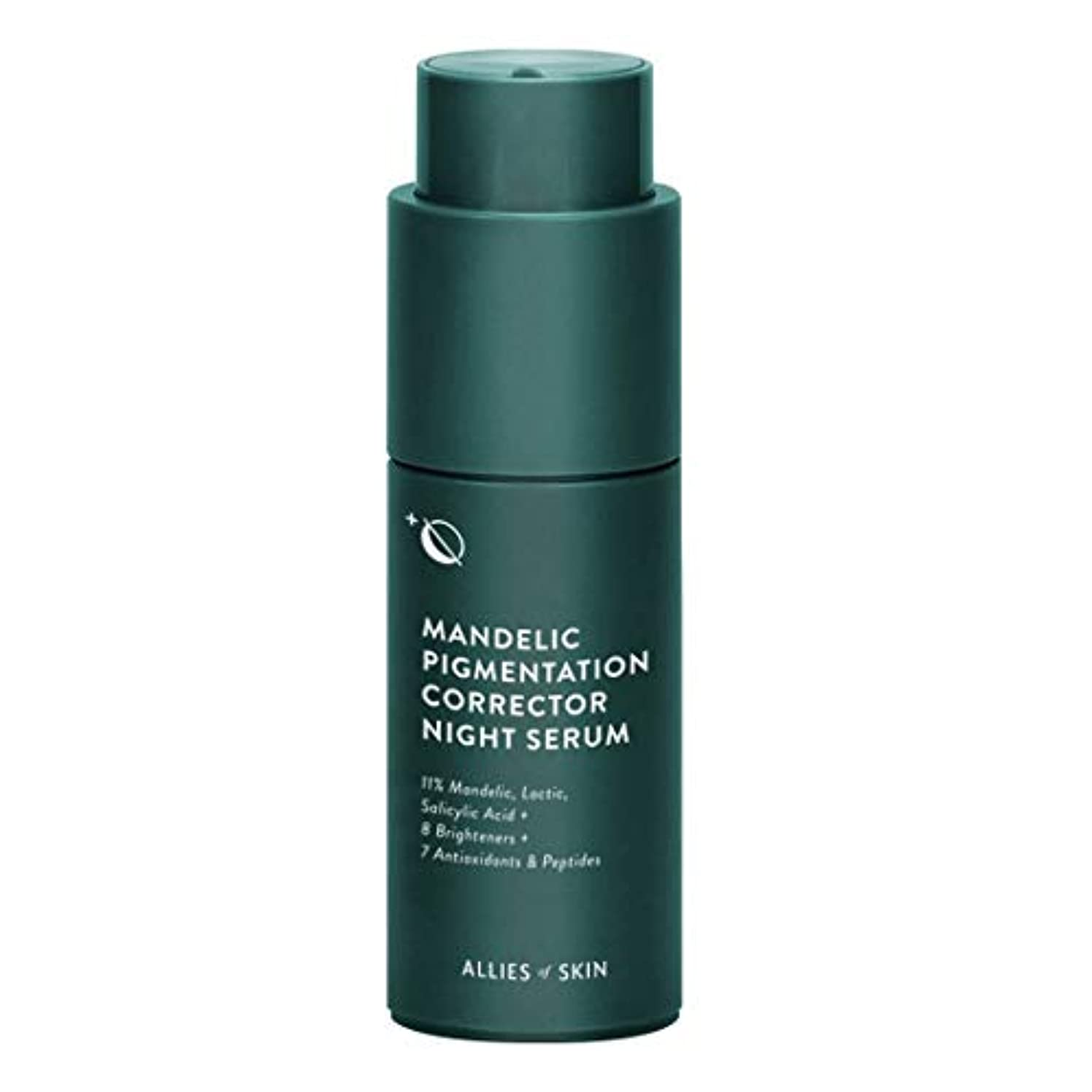 山岳アナリストエラーALLIES OF SKIN Mandelic Pigmentation Corrector Night Serum 30ml