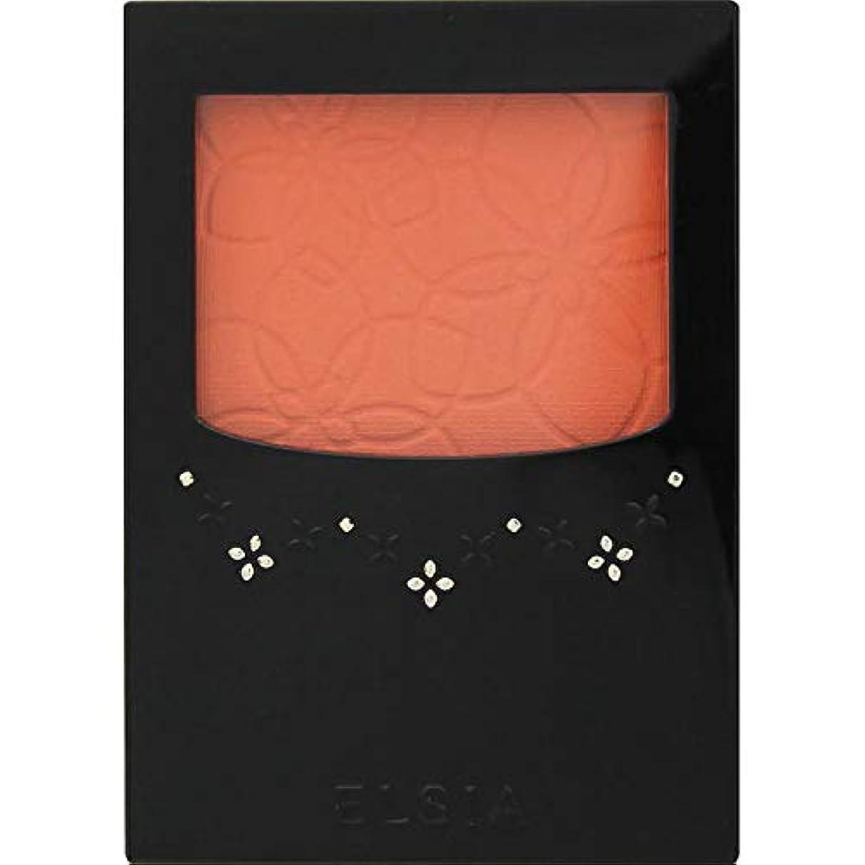 おくびれた五エルシア プラチナム 明るさ&血色アップ チークカラー オレンジ系 OR200 3.5g