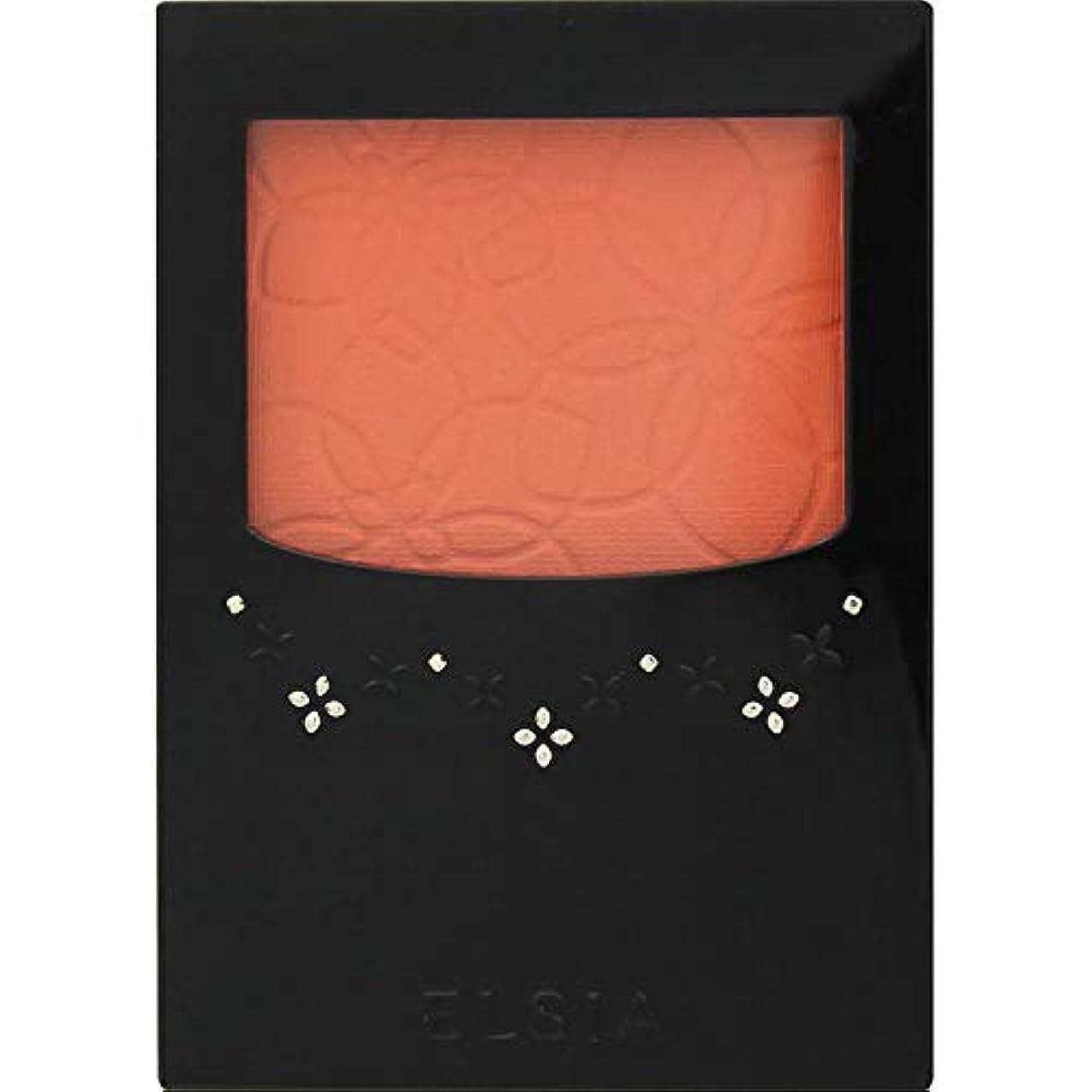 イブ盗難落とし穴エルシア プラチナム 明るさ&血色アップ チークカラー オレンジ系 OR200 3.5g