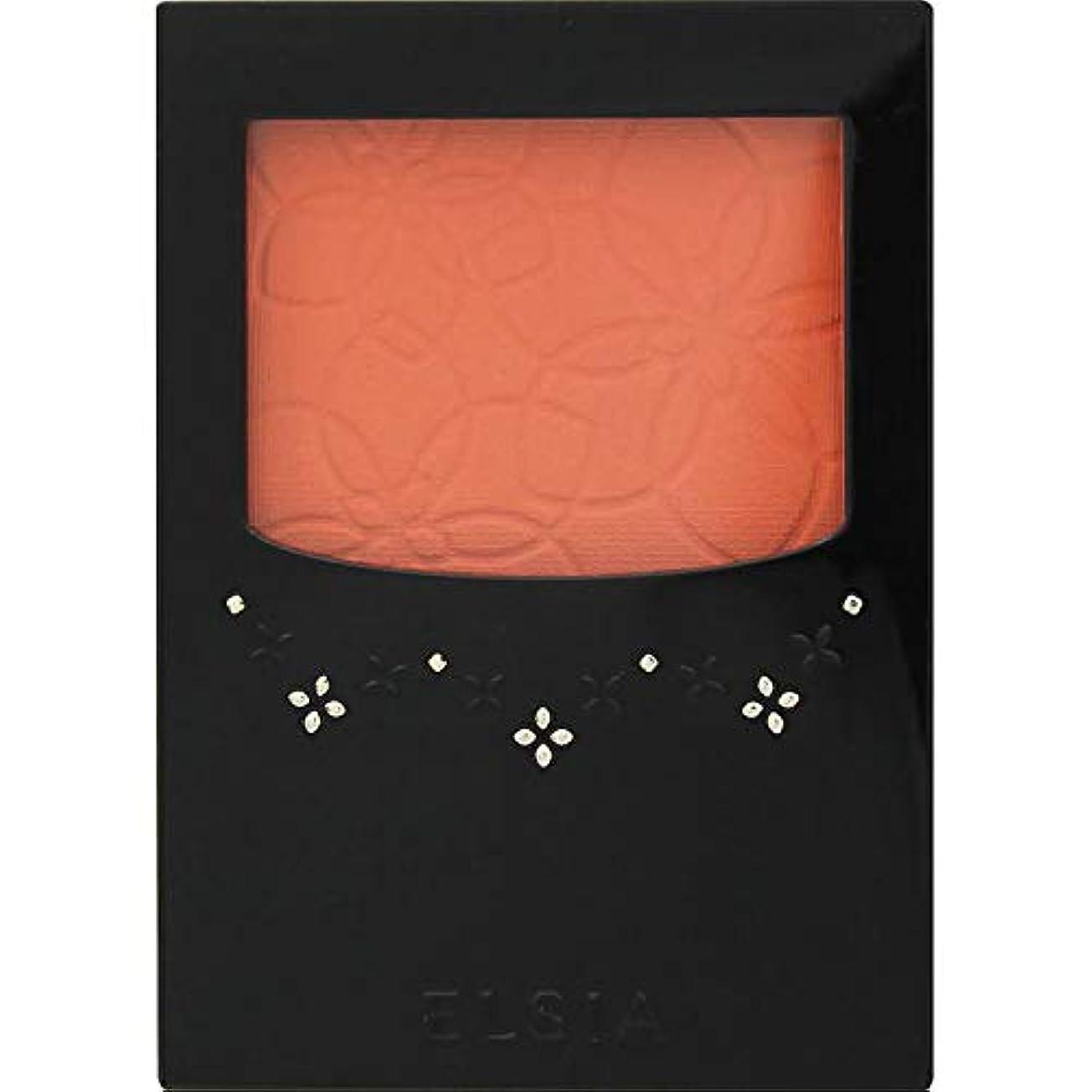 中断ケーブル不規則なエルシア プラチナム 明るさ&血色アップ チークカラー オレンジ系 OR200 3.5g