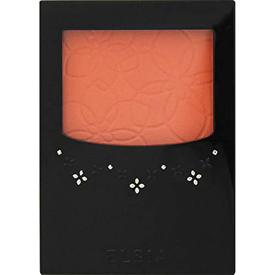 常習的空虚へこみエルシア プラチナム 明るさ&血色アップ チークカラー オレンジ系 OR200 3.5g