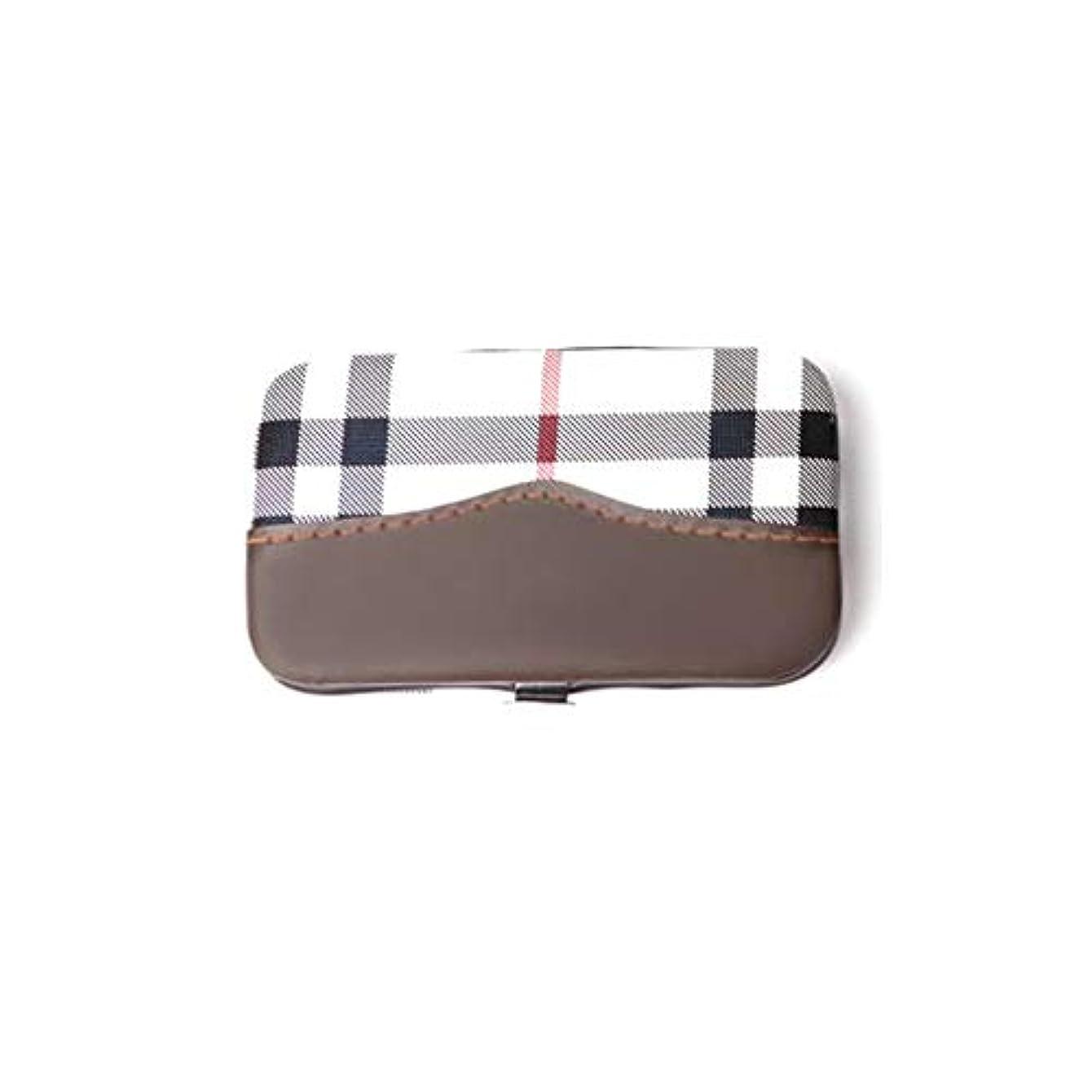 牛肉パース同じ爪切りセット多機能 美容セット携帯便利 収納ケース付き、6点セット