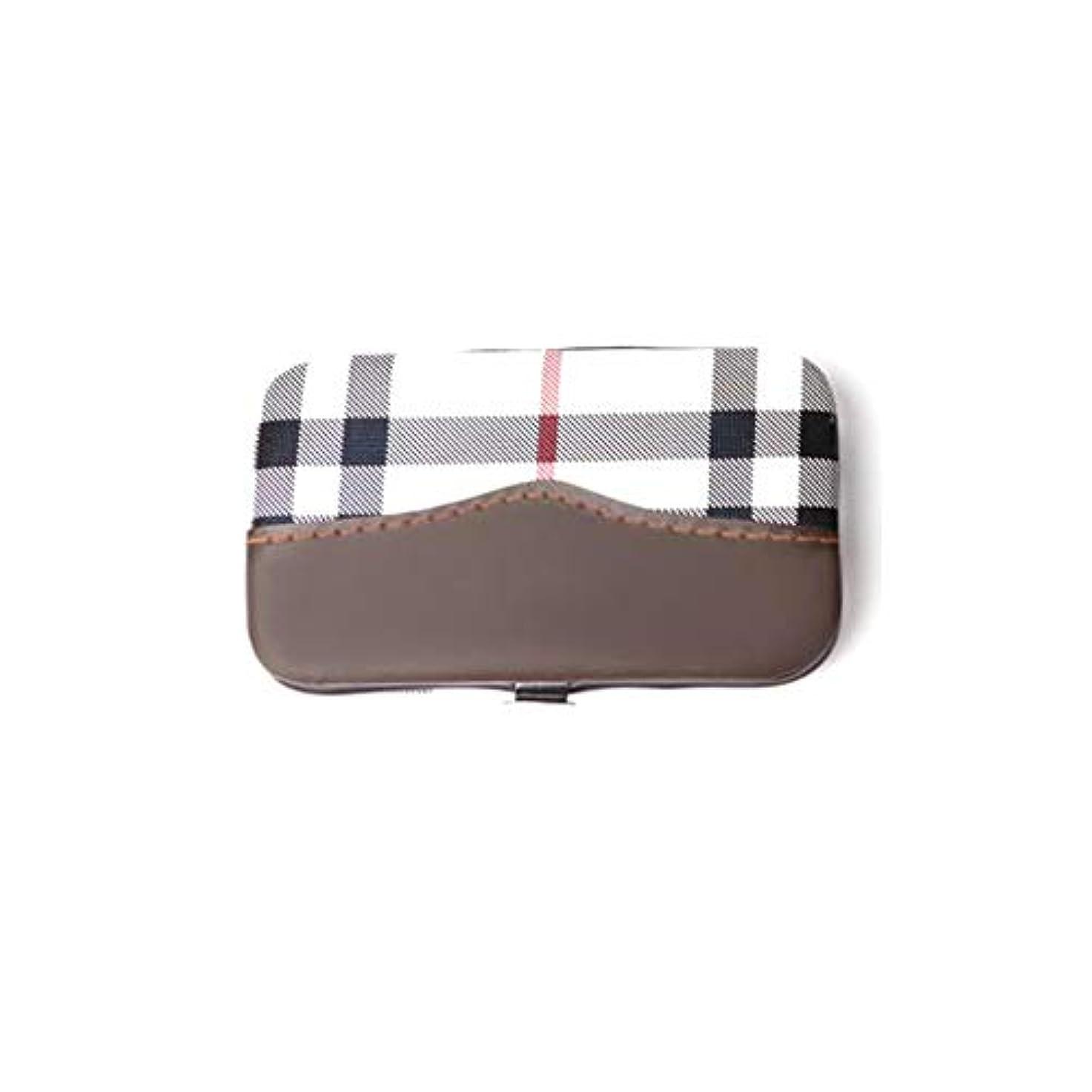 キャップファンシー敬意を表して爪切りセット多機能 美容セット携帯便利 収納ケース付き、6点セット