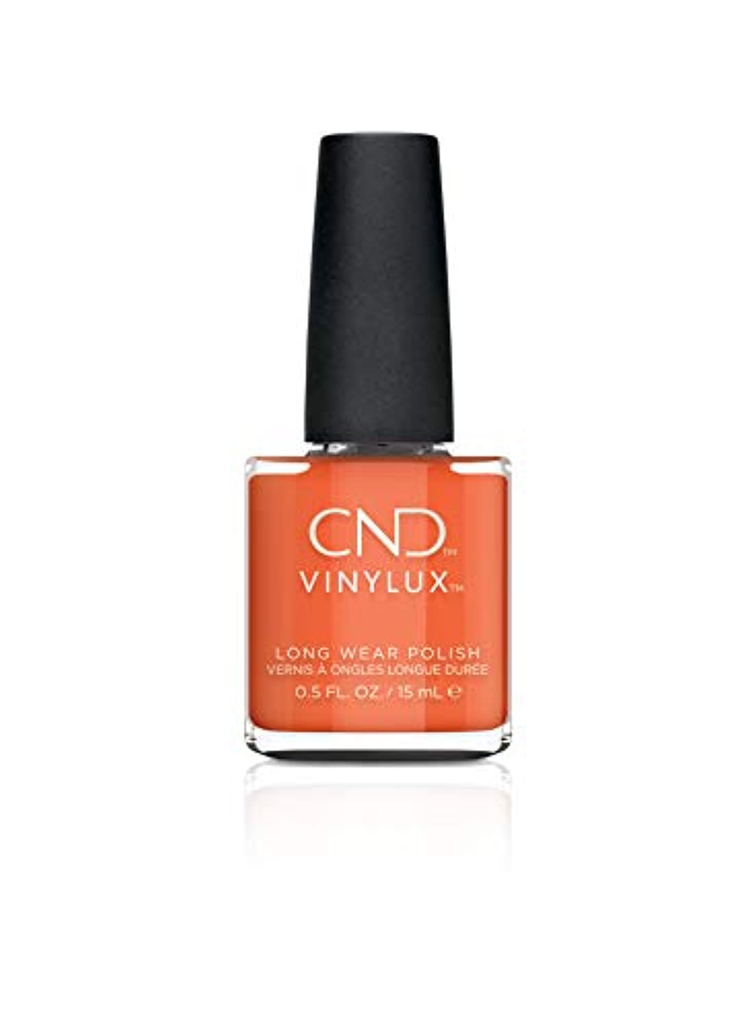 保険をかけるピクニックをする純度CND Vinylux - Treasured Moments Fall 2019 Collection - B-day Candle - 0.5oz / 15ml