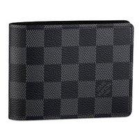 LOUIS VUITTON ルイヴィトン ダミエ・グラフィット ポルトフォイユ・ミュルティプル LOUIS VUITTON 二つ折りXカード財布 N62663