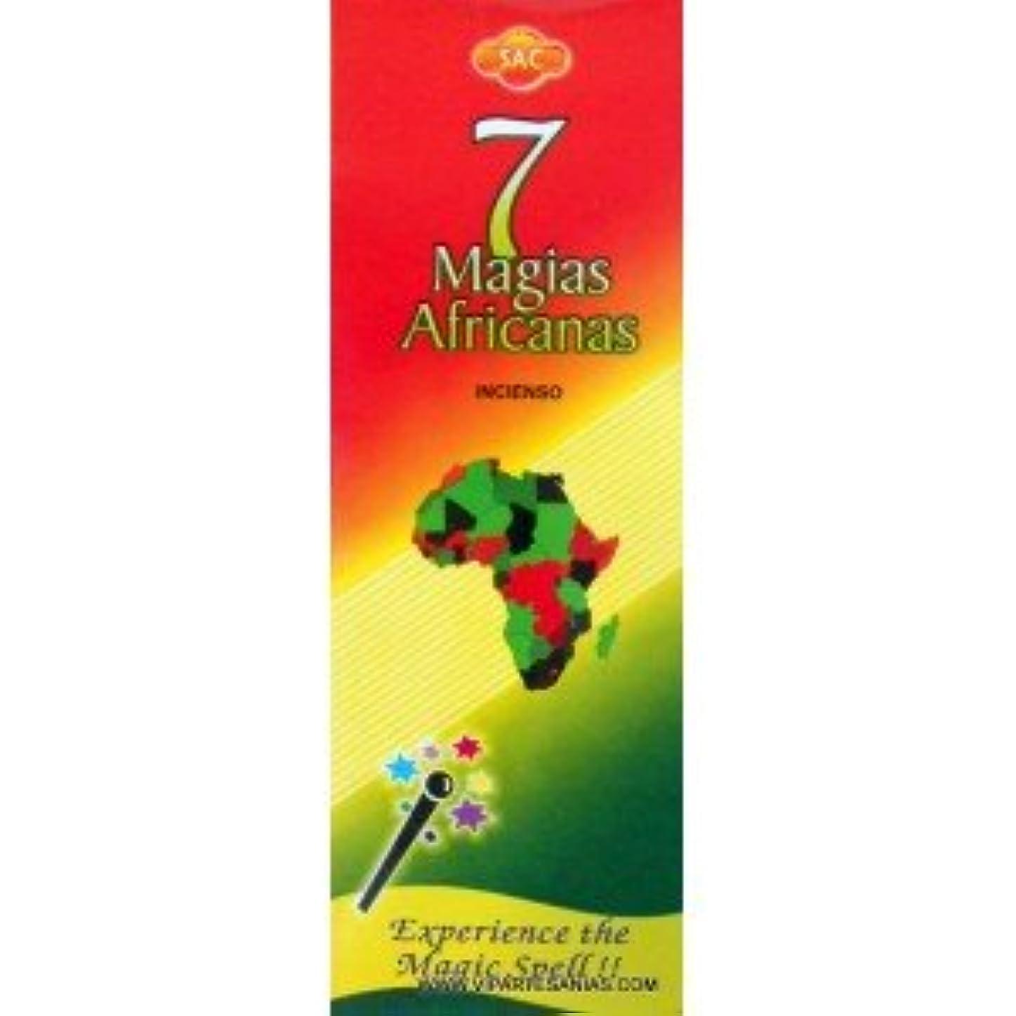 経験的ゲートウェイ腐敗した7 African Magic Incense Sac Sticks 120