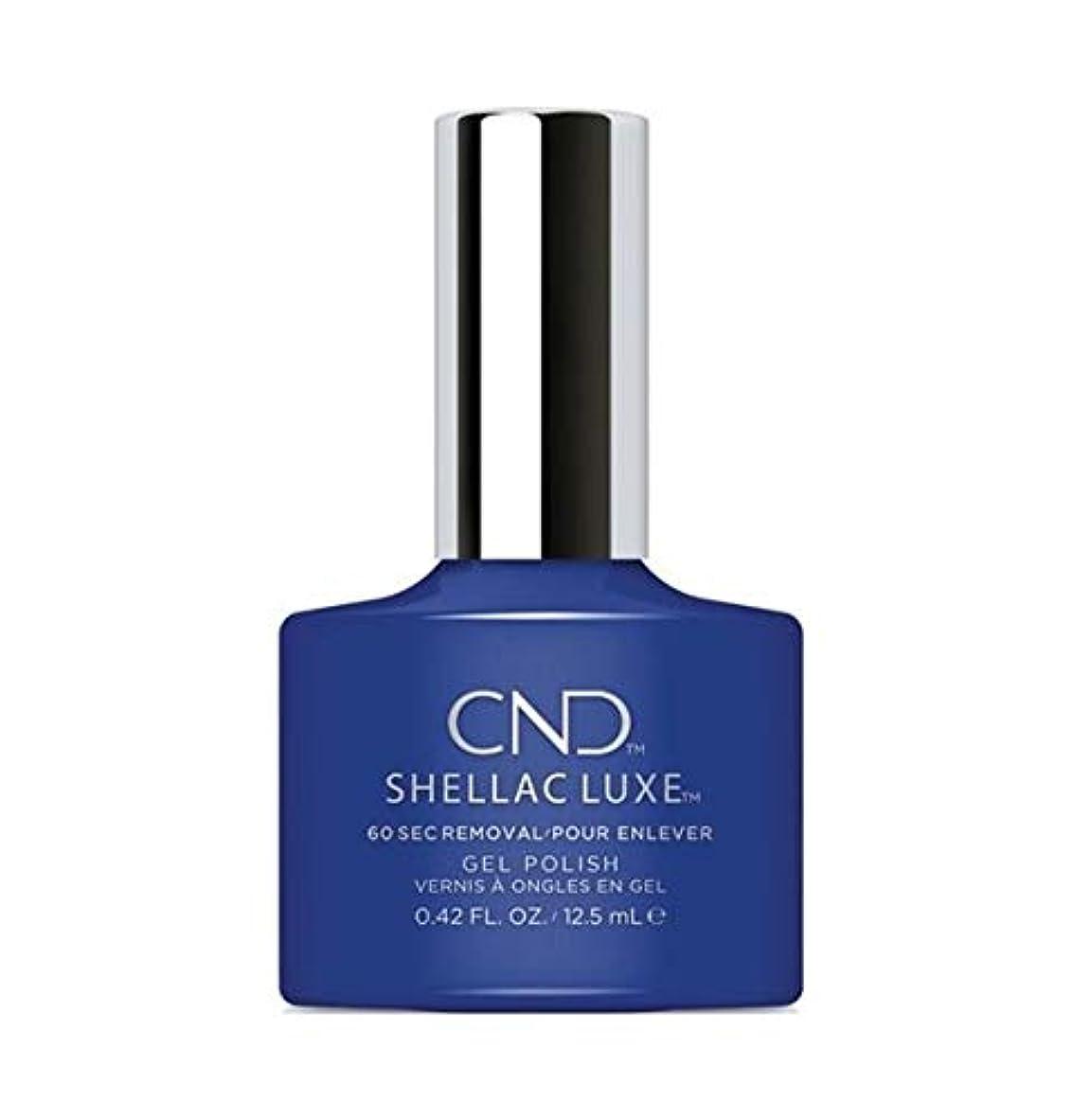 知覚的土地イデオロギーCND Shellac Luxe - Blue Eyeshadow - 12.5 ml / 0.42 oz