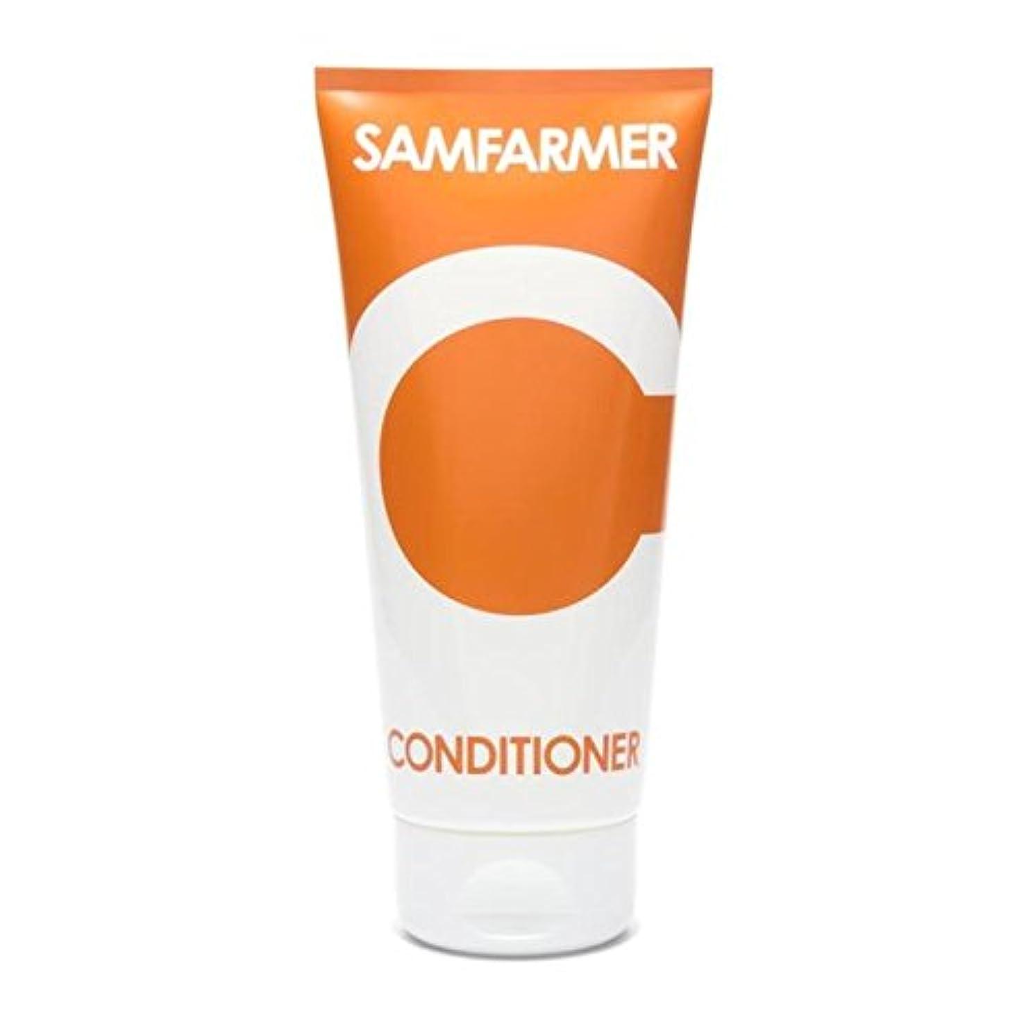 地区ストロー標準ユニセックスコンディショナー200 x4 - SAMFARMER Unisex Conditioner 200ml (Pack of 4) [並行輸入品]