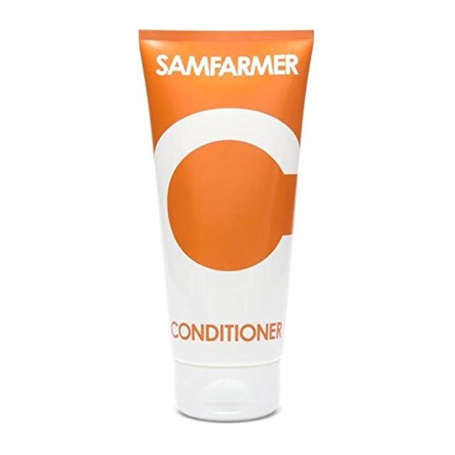 通行料金アロング寺院ユニセックスコンディショナー200 x2 - SAMFARMER Unisex Conditioner 200ml (Pack of 2) [並行輸入品]