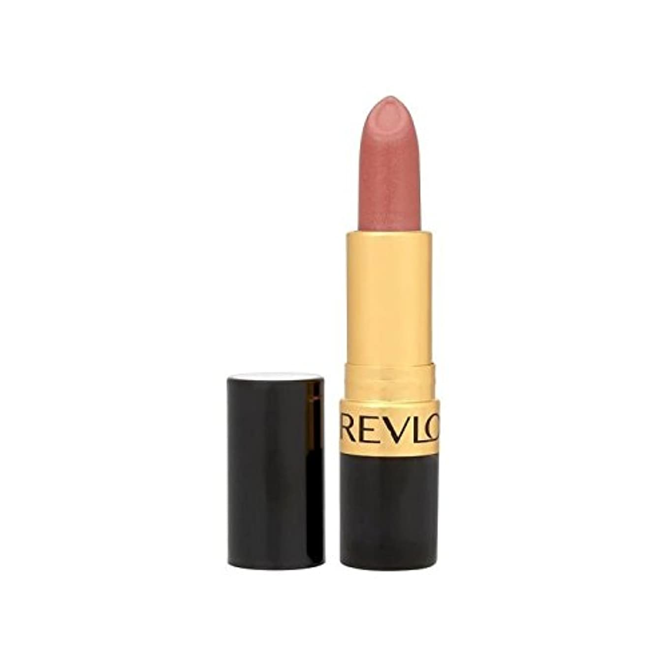 長いです最少パターンRevlon Super Lustrous Lipstick Blushed 420 - レブロンスーパー光沢のある口紅は420を赤らめ [並行輸入品]