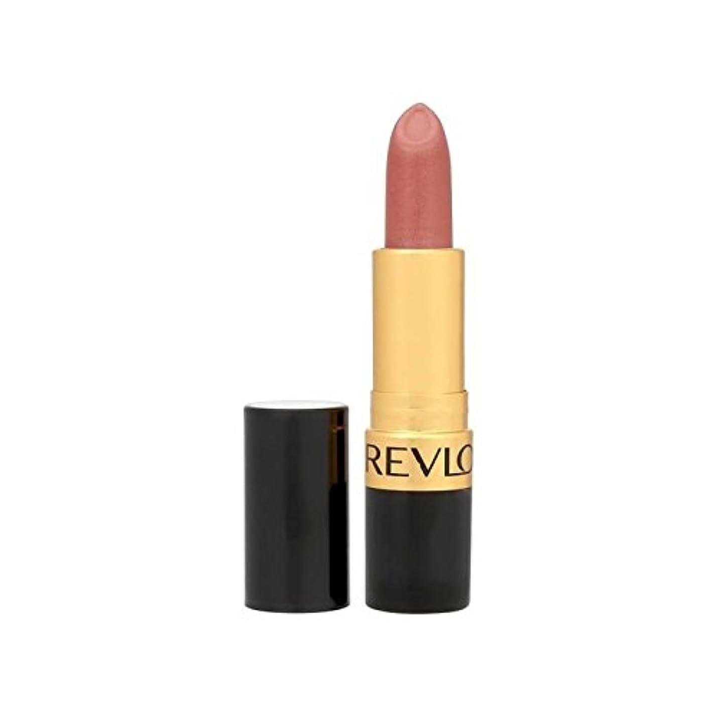 植生倫理湿度Revlon Super Lustrous Lipstick Blushed 420 - レブロンスーパー光沢のある口紅は420を赤らめ [並行輸入品]