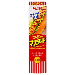 エスビー食品 S&B つぶ入りマスタード 40g×10個入